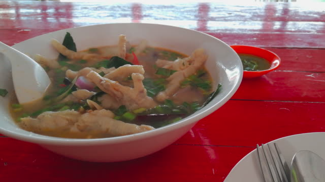 hot spicy chicken legs soup - curry powder stock videos and b-roll footage