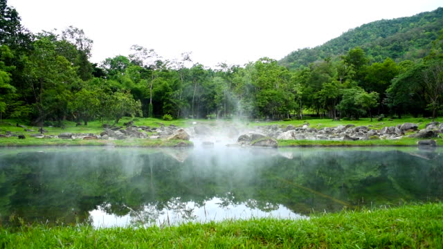Hot Spring in Chaeson,Thailand