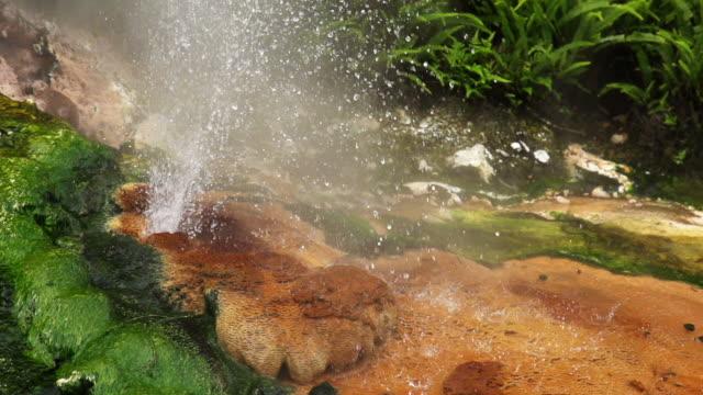 vidéos et rushes de ralenti: hot source - vallée