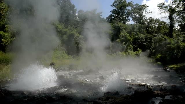 hot springs - maya kultur stock-videos und b-roll-filmmaterial
