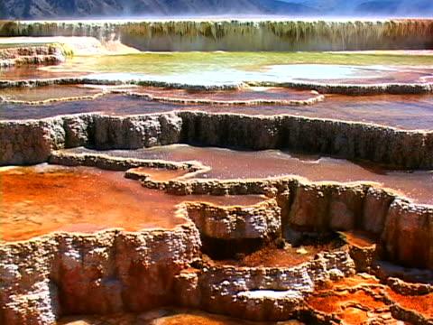 hot springs - natürliches thermalbecken stock-videos und b-roll-filmmaterial
