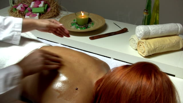 hot stone treatment - lastone therapy stock videos and b-roll footage