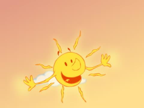 vidéos et rushes de hot sun glowing and putting on sunglasses - lunette soleil