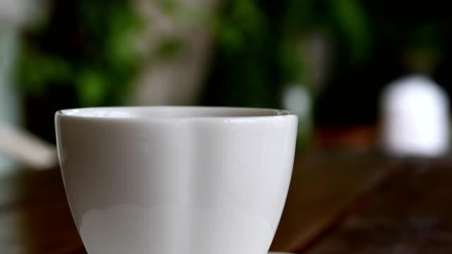 hot tea - mug stock videos and b-roll footage