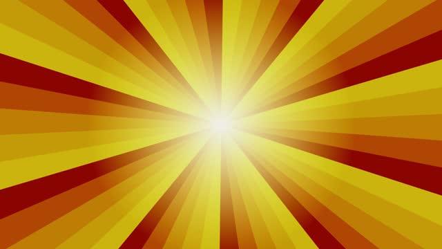 vídeos y material grabado en eventos de stock de color tono caliente fondo de estallido de estrellas brillante - naranja color