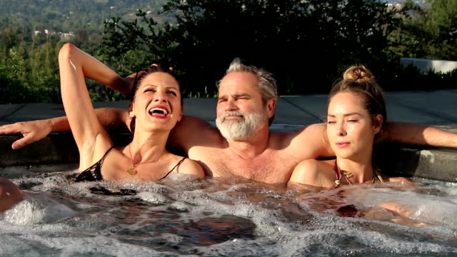 hot tub Threesome, Teacher
