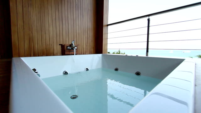 hot tub - hot tub stock videos & royalty-free footage