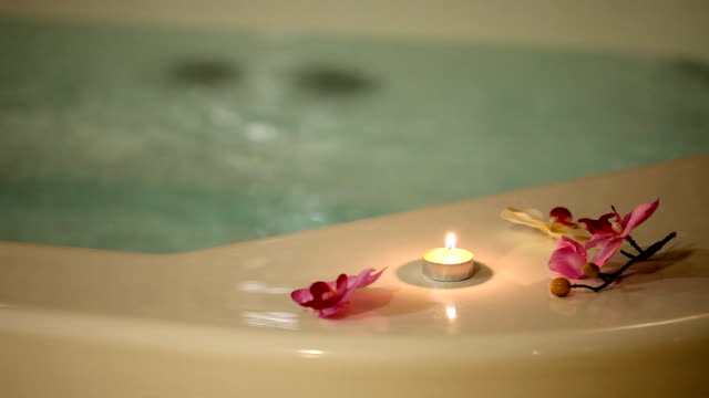 hot tub (hd) - spa treatment stock videos & royalty-free footage