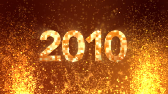 hot anno 2010 - 2010 video stock e b–roll