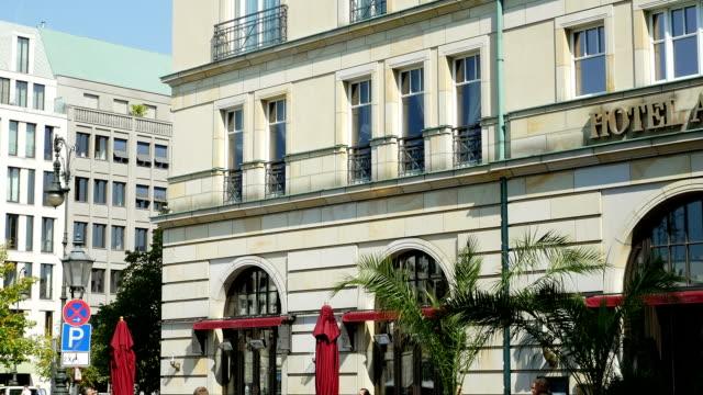 Hotel Adlon In Berlin Tilt Up (4K/UHD to HD)