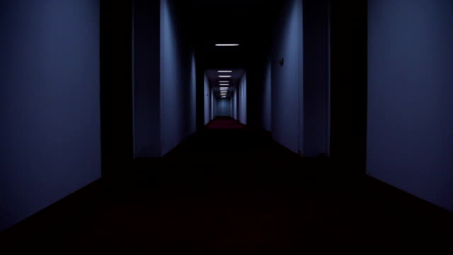 hotel corridor - corridor stock videos & royalty-free footage