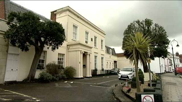 hotel criticised over widower treatment agrees to refund fareham ext general view of lysses house hotel and entrance sign - refund stock videos & royalty-free footage