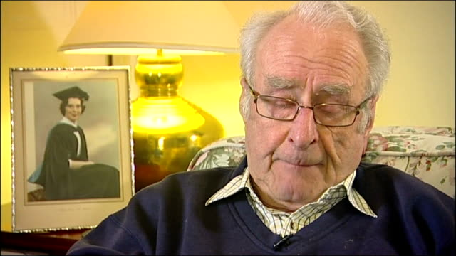 hotel criticised over widower treatment agrees to refund swanmore int eric clifton interview sot - refund stock videos & royalty-free footage