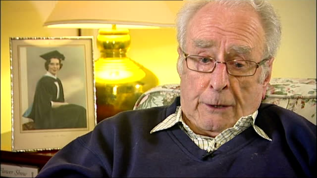 hotel criticised over widower treatment agrees to refund swanmore int eric clifton interview sot eric clifton looking through sympathy cards - refund stock videos & royalty-free footage