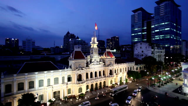 hotel de ville ho chi minh city - 1975 stock videos and b-roll footage