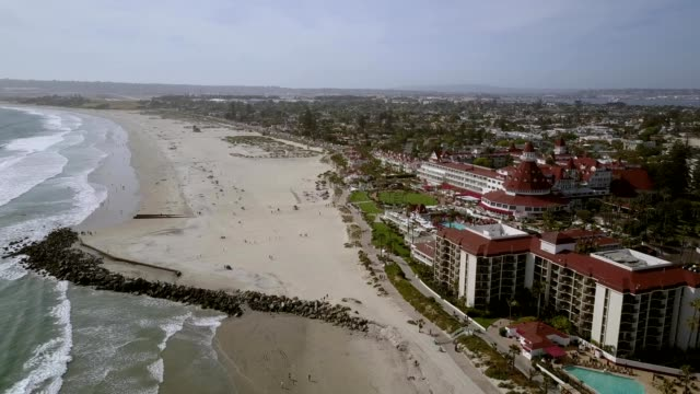 hotel del coronado - san diego stock videos & royalty-free footage