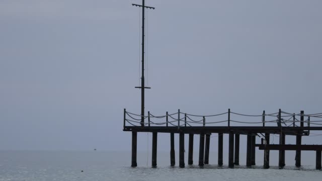 hotel dock at the mediterranean sea - jetty stock videos & royalty-free footage