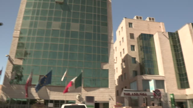 Hotel Facade, Ramallah, Palestine