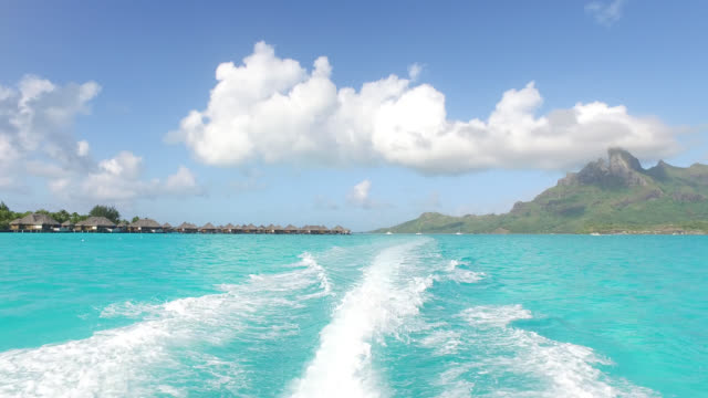 hotel on the water, hotel sur pili - polynesian culture stock videos and b-roll footage