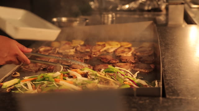 Hotel Restaurant Buffet Food, Nuevo Vallarta, Nayarit, Puerto Vallarta, Mexico, North America
