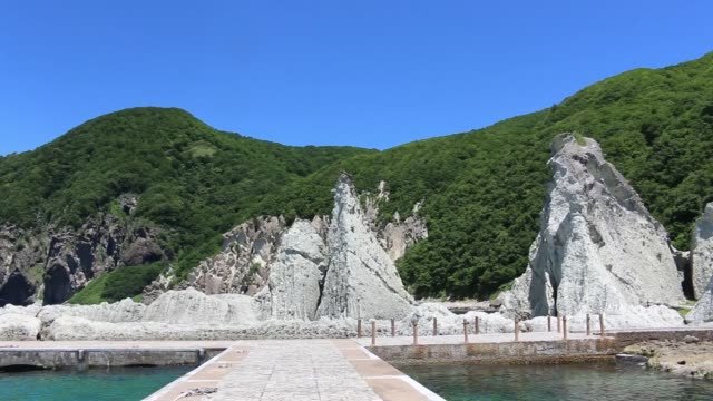 hotokegaura - aomori prefecture stock videos & royalty-free footage