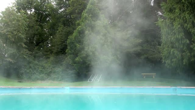 vidéos et rushes de piscine thermale - piscine thermale