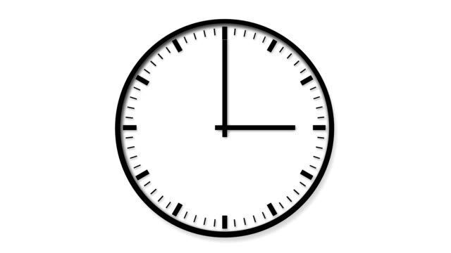 hour clock - single object stock videos & royalty-free footage