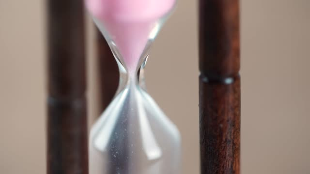 hourglass clock - clock hand stock videos & royalty-free footage