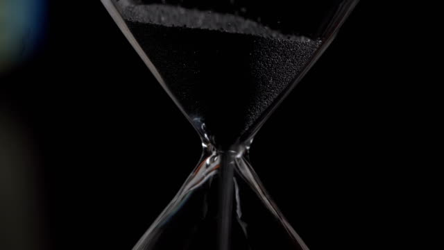 hourglass closeup - timer stock videos & royalty-free footage