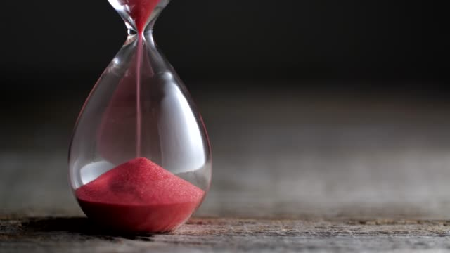hourglass flow - clock stock videos & royalty-free footage
