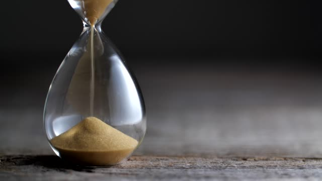hourglass flow - time stock videos & royalty-free footage