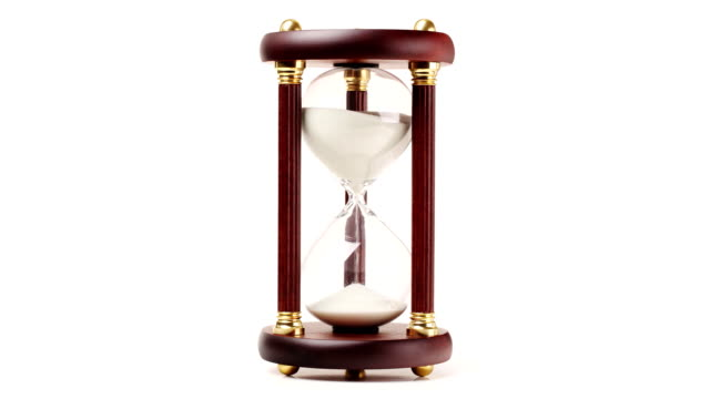 hourglass timelapse - hourglass stock videos & royalty-free footage
