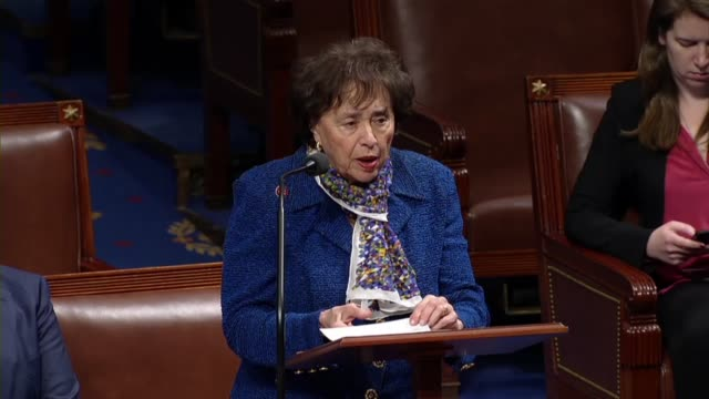 House Appropriations Committee chair Nita Lowey of New York says on day 25 of a partial shutdown in debate on a bill funding government for two weeks...