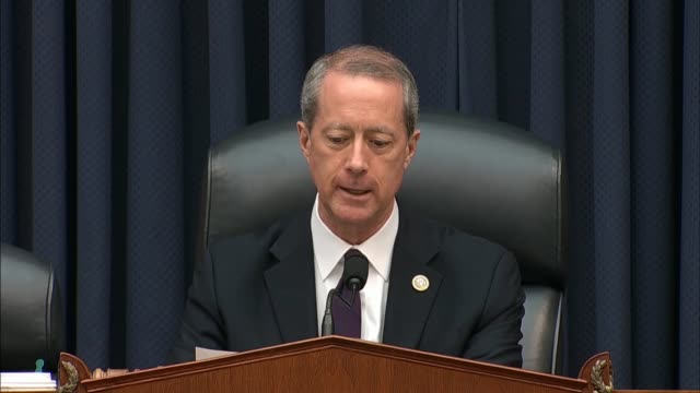 vídeos y material grabado en eventos de stock de house armed services committee chairman mac thornberry says on opening a hearing with defense secretary jim mattis and joint chiefs chairman general... - departamento de defensa
