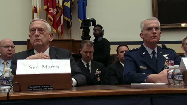 vidéos et rushes de house armed services committee ranking democrat adam smith of washington says at a hearing on defense strategy and nuclear posture review that... - posture