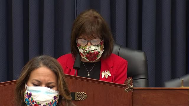 house armed services subcommittee on military personnel chairwoman jackie speier of california says at hearing with members of fort hood independent... - アスベスト点の映像素材/bロール