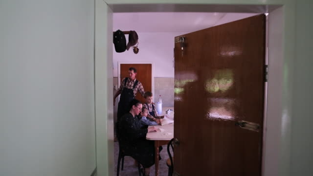 ms pov house at manitoba community family / manitoba community, close to santa cruz de la sierra, bolivia - dungarees stock videos and b-roll footage