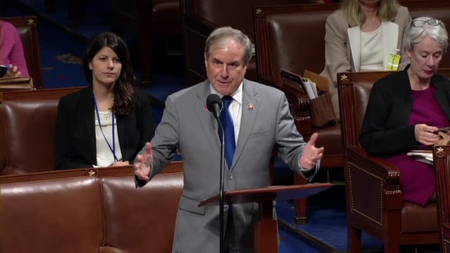 house budget committee chairman john yarmuth of kentucky says in closing debate on the in debate on the bipartisan budget act increasing the debt... - refraction stock videos & royalty-free footage