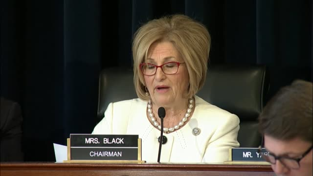 house budget committee chairwoman diane black of tennessee says at a markup on the american health care act that she has been a nurse for more than... - human back stock videos & royalty-free footage