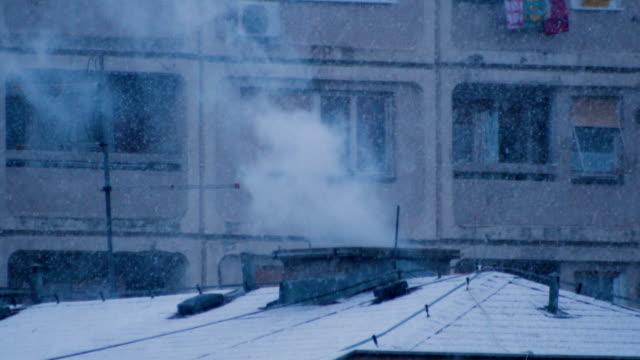 Haus Schornstein Rauch