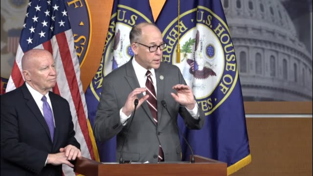 house energy and commerce committee chairman greg walden tells reporters that a bill to replace the affordable care act that congress is awaiting a... - paying taxes stock videos & royalty-free footage
