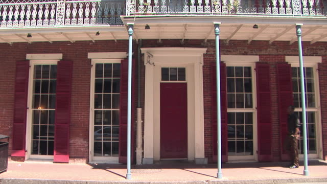 WS House exterior, Dauphine Street, French Quarter, New Orleans, Louisiana, USA