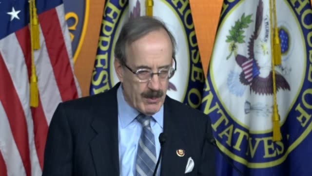 house foreign affairs committee chairman eliot engel of new york says at a news conference on legislation set to pass the house that nato plays a... - organised group stock videos & royalty-free footage
