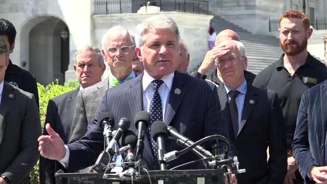 house foreign affairs committee ranking member michael mccaulof texas says at press conference about helping afghan interpreters escape afghanistan... - bagram stock videos & royalty-free footage