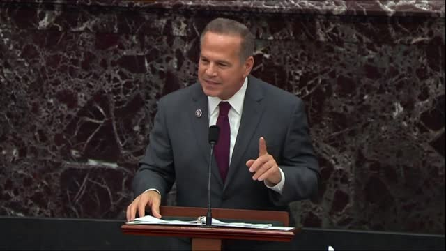 house impeachment manager david cicilline continues in opening argument that the senate had jurisdiction to try former president donald trump for... - only boys stock videos & royalty-free footage
