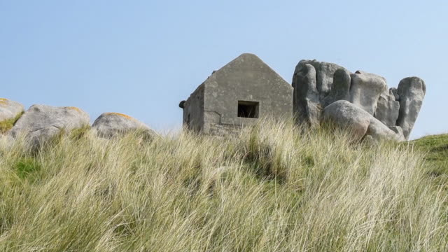 House in the Dunes. Cleder Finistere