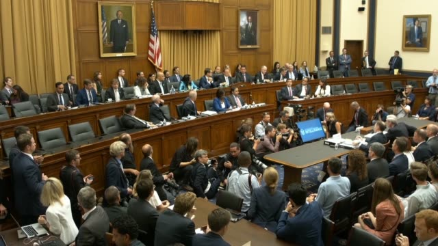 house intelligence committee chairman adam schiff of the house intelligence committee concludes the hearing with former special counsel robert... - shift key stock videos & royalty-free footage