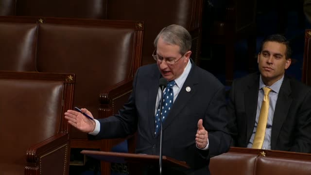 House Judiciary Committee Chairman Bob Goodlatte of Virginia offers a hypothetical during debate on extending Section 702 warrantless wiretapping...