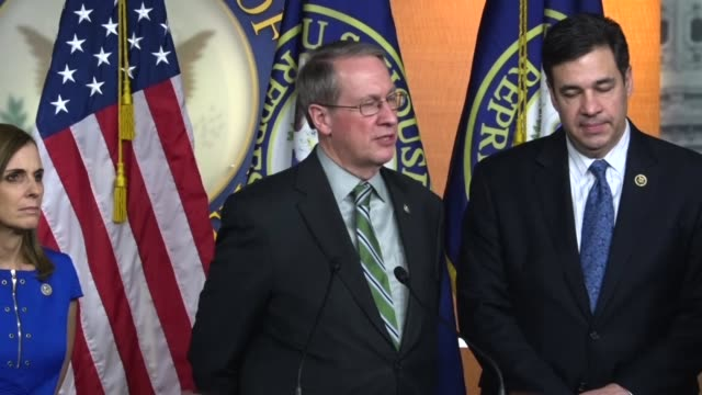 House Judiciary Committee Chairman Bob Goodlatte of Virginia says a press conference that new immigration bill introduced addresses expanded or...