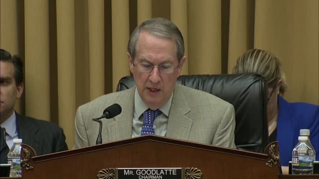House Judiciary Committee Chairman Bob Goodlatte of Virginia says at a hearing to review a Supreme Court decision in North Dakota versus Wayfair...